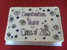 Another cute graduation cake #gradcake