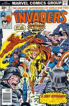 The Invaders (1975) Issue #12 - Read The Invaders (1975) Issue #12 comic online in high quality