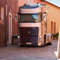 Truck Volvo; it would be awesome if this is what trucks are going to start looking like.