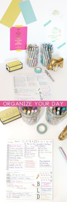 The days go quicklytoo quickly. My first tip for making the most of your time is a well organized list. You can scoff, you can try 500 different to-do list apps-but Im willing to bet that when it comes down to it-seeing your list, goals, and appointments written out in front of you is the most effective way of getting. things. done.