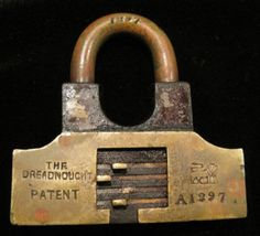 Padlock Dreadnought Walsall Anglo American Lock