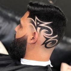 Hair Designs For Boys, Haircut Designs For Men, Cool Hair Designs, Hair Tattoo Men, Hair Tattoos, Mens Braids Hairstyles, Cool Hairstyles, Mens Hair Comb, Hair And Beard Styles