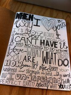 Love the way it is written!
