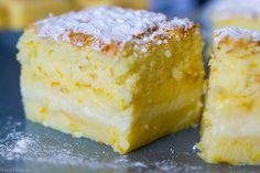 Orange Magic Custard Cake