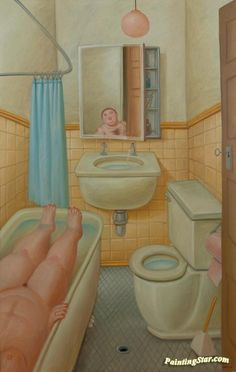 Fernando Botero, Donna nel Bagno well-rounded people are celebrated ...