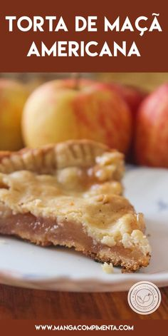 Apple Pie recipe, true American Apple Pie for your afternoon coffee with friends. Köstliche Desserts, Delicious Desserts, Dessert Recipes, American Apple Pie, Food Wishes, Healthy Summer Recipes, Sweet Pie, Air Fryer Recipes, Sweet Recipes