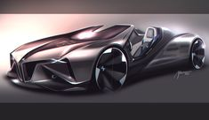 Car design sketches #2 on Behance