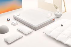 Backed by Serta Simmons, Tomorrow is the first connected sleep system, offering a mattress, bedding, blackout shades and sleep tracker.