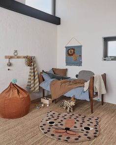 30 French Country Bedroom Design and Decor Ideas for a Unique and Relaxing Space - The Trending House Childrens Rugs, Childrens Room Decor, Kids Decor, Home Decor, Trendy Bedroom, Kids Bedroom, Bedroom Decor, Ikea Kids Room, Leopard Rug