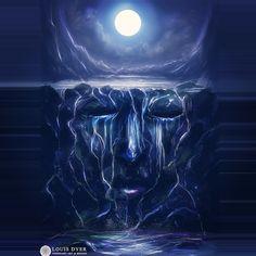 Le flux de ... Un concept croquis;) http://www.digitalvisionaryart.co.uk #art…
