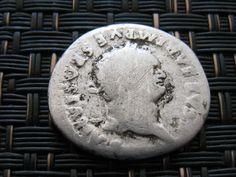 Silver AR Denarius TITUS As Caesar 69-79 AD Rome mint 79 AD Ancient Roman Coin