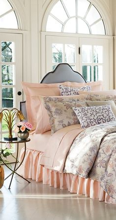 Lend heady, luxurious sophistication to your boudoir with the SFERRA Prina Bedding Collection.