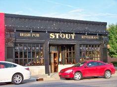 Brighton, Michigan ....skiing and Stouts Pub.