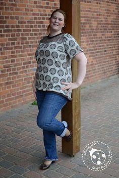 Ein neuer Liebling - TAIPA II - *Verlosung* - Glückpunkt - Stoff für Deine Ideen  EBook - Tragmal - Shirt - Kleid - Spitze - Nähen