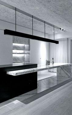 design - 23 Amazing Kitchen Without Island Kitchen Interior, Modern Interior, Interior Architecture, Kitchen Decor, Kitchen Grey, Kitchen Ideas, Design Kitchen, Kitchen Without Island, Island Kitchen