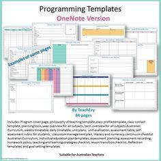 programming templates onenote cover