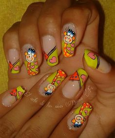 From general topics to more of what you would expect to find here, nail-art-stickers. Glitter Manicure, Nail Manicure, Diy Nails, Pedicure, Cute Nail Art, Cute Nails, Holographic Glitter, Nail Art Stickers, Powder Nails