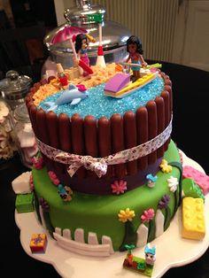 Les recettes d'Emilie: Gâteau Lego Friends