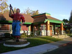 Lumberjacks Restaurant in Sacramento - Where the big boys eat! Citrus Heights, Area Restaurants, Lumberjacks, My Town, Sacramento, Big Boys, Eat, Places, Food