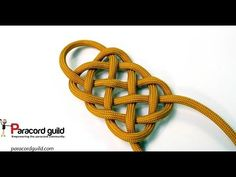 How to tie the plafond knot - YouTube