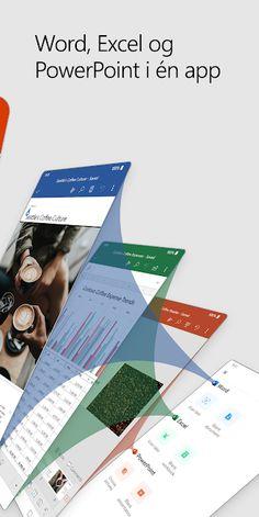 Microsoft Office: Word, Excel, PowerPoint og mer – Apper på Google Play Microsoft Office, Google Play, App, Words, Apps, Horse