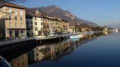 Lovere am Iseo See January