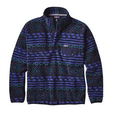 Patagonia Mens Synchilla Snap-T Fleece Pullover Saltillo: Navy Blue Country Outfits, Western Outfits, Fall Outfits, Patagonia Pullover, Patagonia Synchilla, Made Clothing, Mens Fleece, Look Cool, Vest Jacket