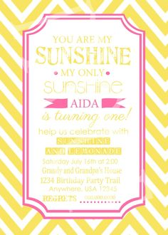 sunshine birthday print - Google Search