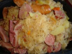 Choucroute !!!!cookeo usb Hawaiian Pizza, Slow Cooker, Food And Drink, Dinner, Usb, Cooking, Ethnic Recipes, Paris, Blog