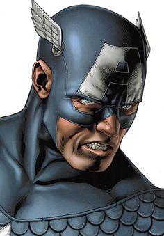 Captain America by Steve McNiven