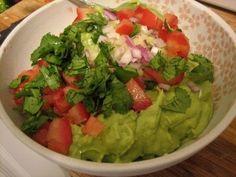 Comida Mexicana: Guacamole