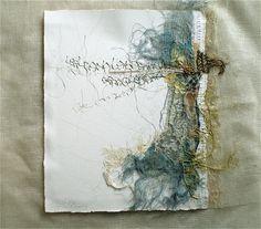 Stéphanie Devaux Textus - fabric collage