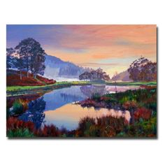 Trademark Fine Art Baroque Dawn by David Lloyd Glover Canvas Wall Art 18x24Inch * You can get additional details at the image link.Note:It is affiliate link to Amazon.