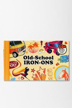 Old-School Iron-Ons By Chronicle Books