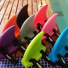 A glorious rainbow of SwimFins! Which colour is your favourite? Pop over to our shop to order your preference today! #swimming #swimmingaid #parenting #watersafety
