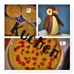 Keiner zu klein,köstlich zu sein !:     Heute machte ich fünf verschiedene Kuchen.  A ...