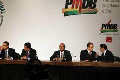 Deputado e Presidente FUG Eliseu Padilha no Fórum Nacional PMDB e os Municípios