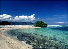 Heaven in the world. Gili, Lombok, Indonesia. -Indonesian Tourism-