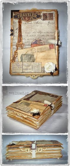 The Altered Inker: A Vintage Journey {it inspired me to blog!!!!!}