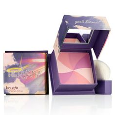 Hervana > Benefit Highlighting Blush w/ 4 shades Lucky Shell Divine Peach Heavenly Rose Berry Delight