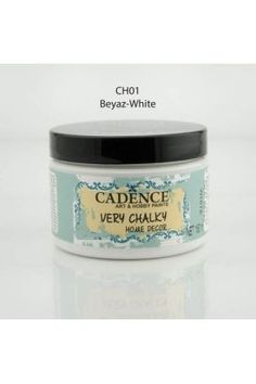 Cadence Very Chalky Home Decor Beyaz - Akrilik boya dendiğinde akla gelen ahşap boyama malzemeleri https://www.hobisanat.com/akrilik-hobi-boyalari adresinden alınır! En kaliteli en ucuz hobi malzemeleri Hobi Sanat'ta