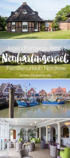 The DJH Resort Neuharlingersiel is the first youth hostel in the style of a club … - Vacation Destinations All Inclusive Urlaub, All Inclusive Resorts, Vacation Places, Vacation Destinations, Travel With Kids, Family Travel, Hotels For Kids, Inclusive Holidays, Van Living