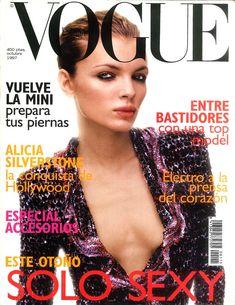 Esther Cañadas Vogue España October 1997
