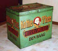 Reuser-Smulders Koffie-Thee blik. Den Haag.