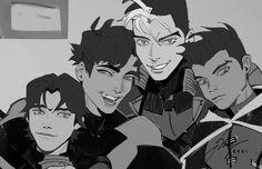 Dc Comics Art, Manga Comics, Nightwing, Batgirl, Batfamily Funny, Marvel And Dc Characters, Robin Dc, Bat Boys, Dc Memes