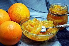 Dulceata de portocale sau lamaie felii, o reteta simpla, care confiaza feliile de portocale sau lamaie. O dulceata fina, parfumata, acrisoara, cu felii intregi de portocale, perfect confiate. Grapefruit, Jelly, Caramel, Cooking Recipes, Gem, Food, Canning, Fragrance, Toffee