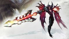 Aatrox is most likely going to be my next champion :) look at that sexy darkin  #leagueoflegends #aatrox