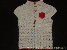 Angelica lucreaza: Bolero Short Sleeve Dresses, Dresses With Sleeves, Crochet Clothes, Model, Fashion, Moda, Gowns With Sleeves, Fashion Styles