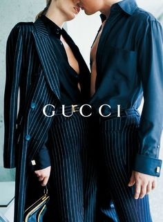Georgina Grenville shot by Mario Testino for Gucci ad campaign 1996 _