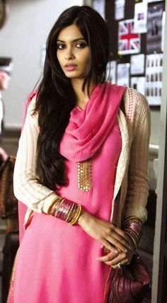 Diana Penty:  Seriously, how beautiful can one person be?  I guess this beautiful.  Thanks women of India for raising the bar so high. :)